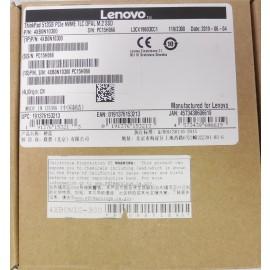 Lenovo Thinkpad 512GB PCIe NVME TLC OPAL M.2 SSD P/N: 4XB0N10300