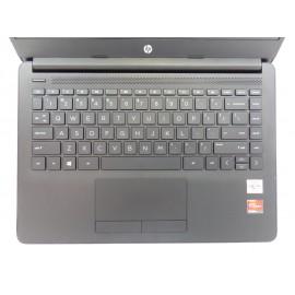 """HP 14-DK1003dx 14"""" HD AMD Athlon Silver 2.3GH 4GB 128GB SSD Radeon W10 Laptop U1"""