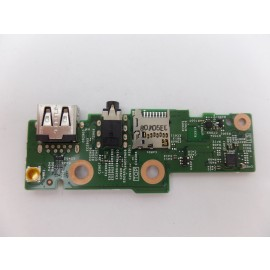 OEM USB Audio Card Reader Board w/ Cable Dell Inspiron 7386 PG21H
