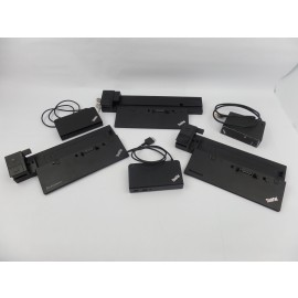 For parts: Lot of 6 Lenovo Thinkpad Docking Stations