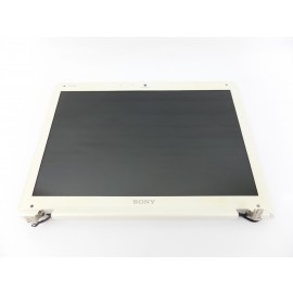 "14.1"" LCD Screen Assembly with Web Camera Hinges for Sony VAIO VGN-CR220E"