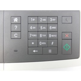 Control Panel for Lexmark CX410de Printer