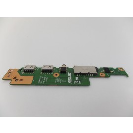 OEM USB Audio Card Reader Board w/ Cable 60NB0FL0-IO1030  for Asus M580VD M580