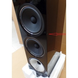 Read: Bowers & Wilkins  703 S2 B&W Floorstanding Speaker (single) Gloss Black
