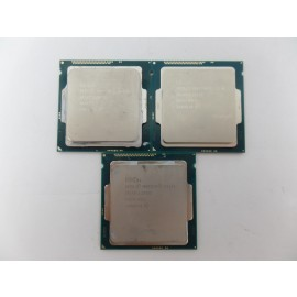 Lot of 19 CPUs Processor Intel Pentium Celeron i3 AMD