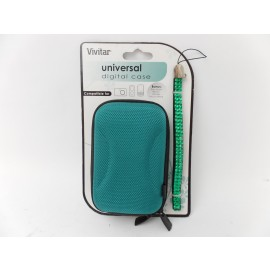 Vivitar Universal Hard Case for Digital Camera MP3 MP4 Player iPod w Wrist Strap
