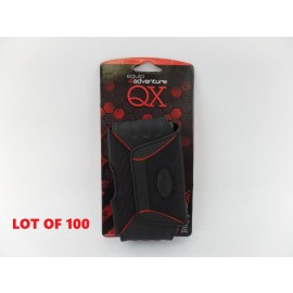 Lot of 100 Rugged QX Medium Horizontal Pouches for iPhone 4 4S 3G 3GS MP3 Player