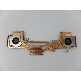 CPU Cooling Fan Pair Left+Right + Heatsink PAAD06015SL for MSI GP63 8RE-077US