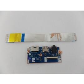 OEM Genuine USB Audio Ethernet Card Reader Board NS-A831 for Lenovo E570 E575
