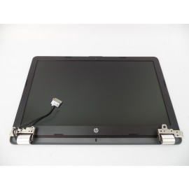 "15.6"" LCD Screen Assembly w/ Web Camera Hinges for HP 255 G6 4NY69UP"