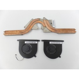 2x FAn DFS501105PQ0T + Heatsink for Razer Blade RZ09-0102