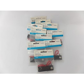 Lot of 10 items 10A08 RadioShack Anti Static Control Wrist Strap 2762397 Red