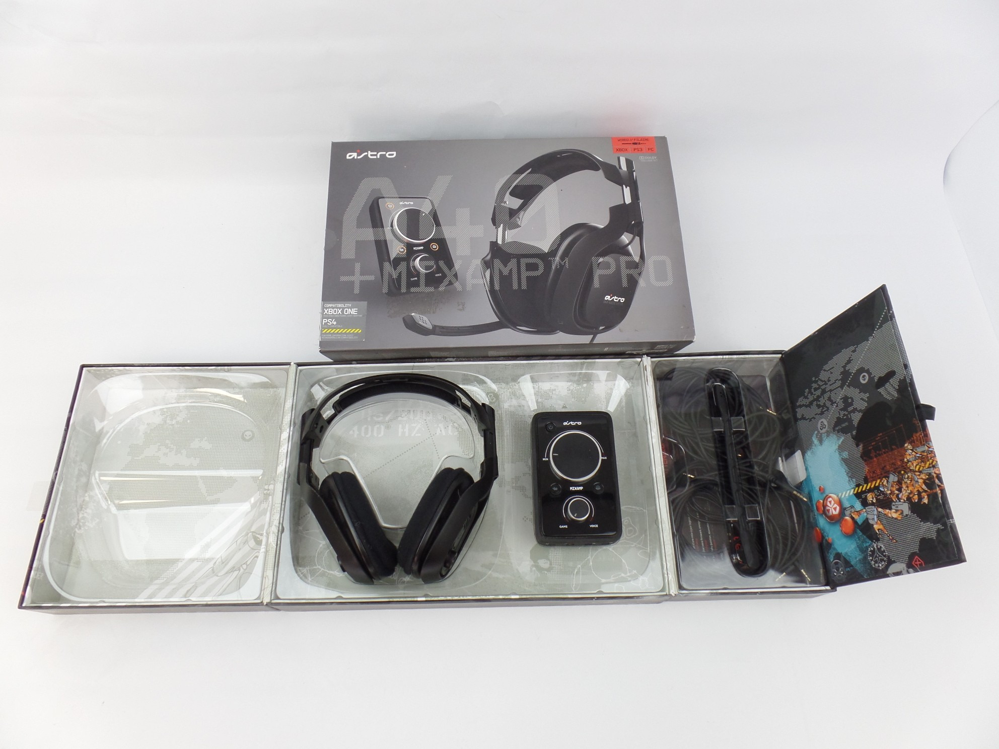 Read: bad Astro A40 Gaming Headset and Mixamp PRO for Xbox ONE PS3 PS4 PC