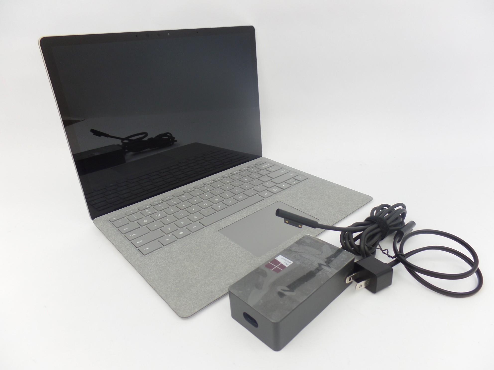 """Microsoft Surface Laptop 1769 13.5"""" Touch i5-8250U 1.6GH 8GB 128GB SSD W10H Grey"""