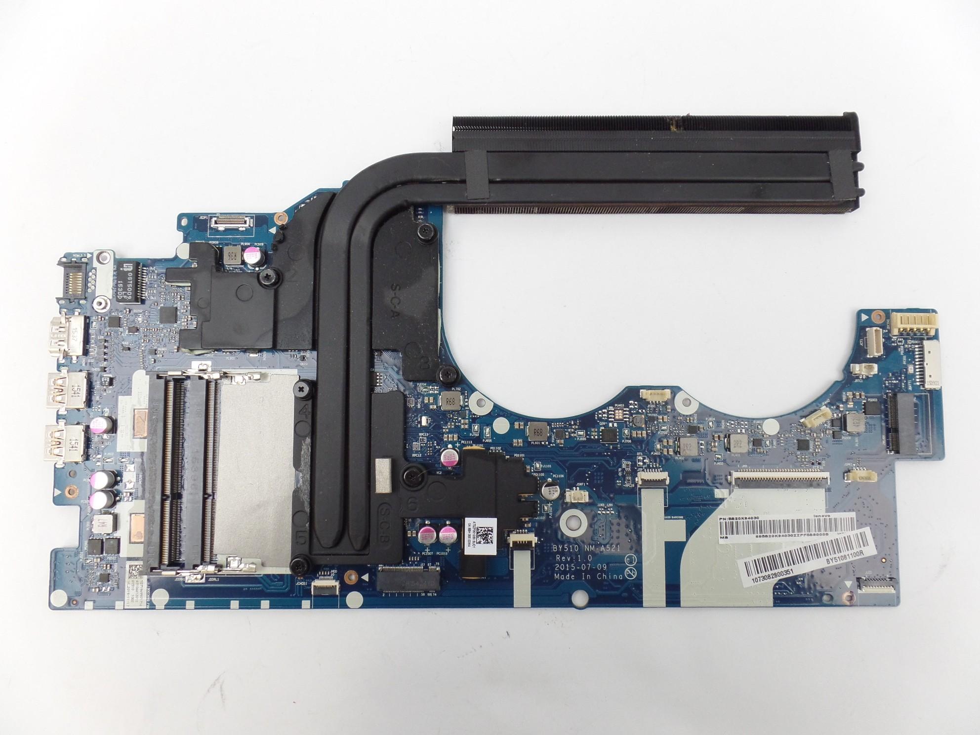 Read: Parts, Lenovo Y700-15ACZ OEM Motherboard AMD FX-8800p R9 M385x  5B20K94030