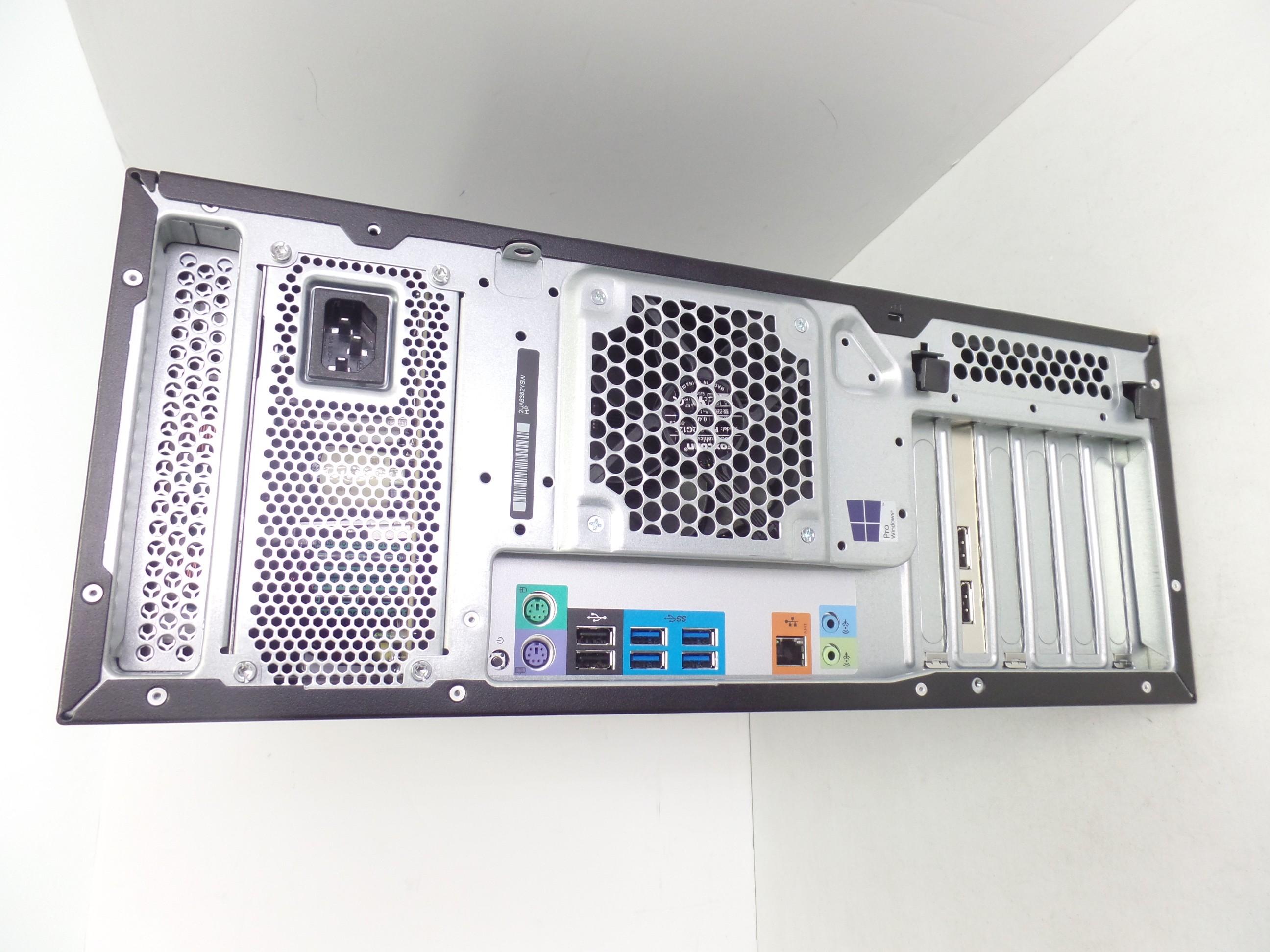 HP Z440 Tower Workstation Desktop Xeon E5-1603V3 2 8GHz 16GB 256GB W10  V9Y61UP S
