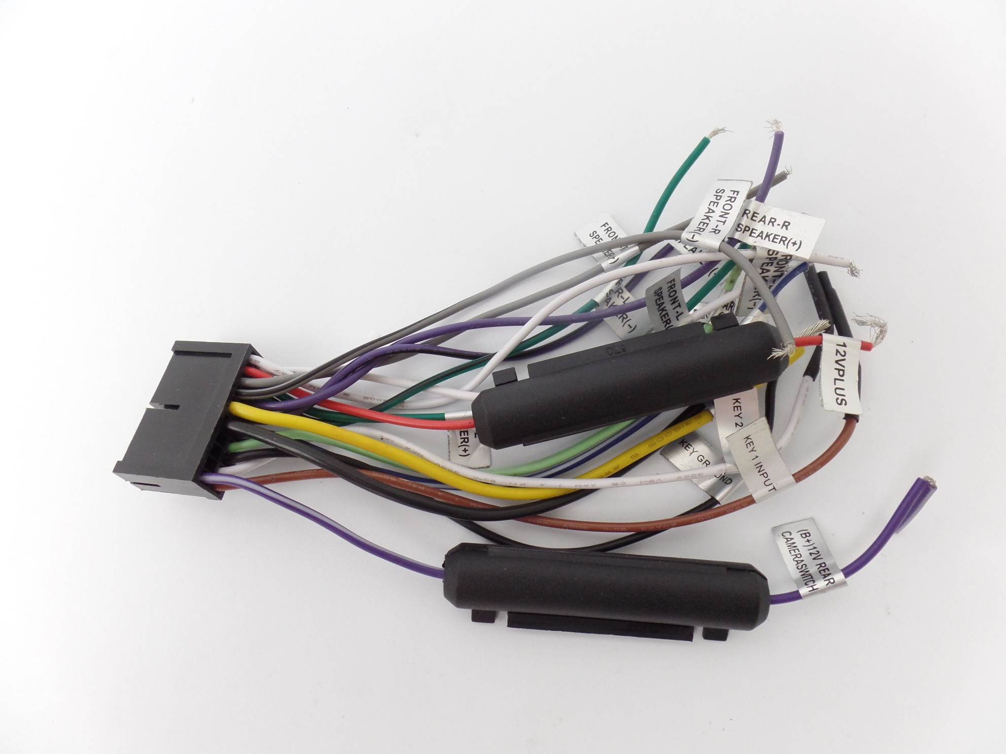 Wiring Harness Video Audio Input Output Wires for Boss BV9976B Car ReceiverAve Electronics Ave Electronics