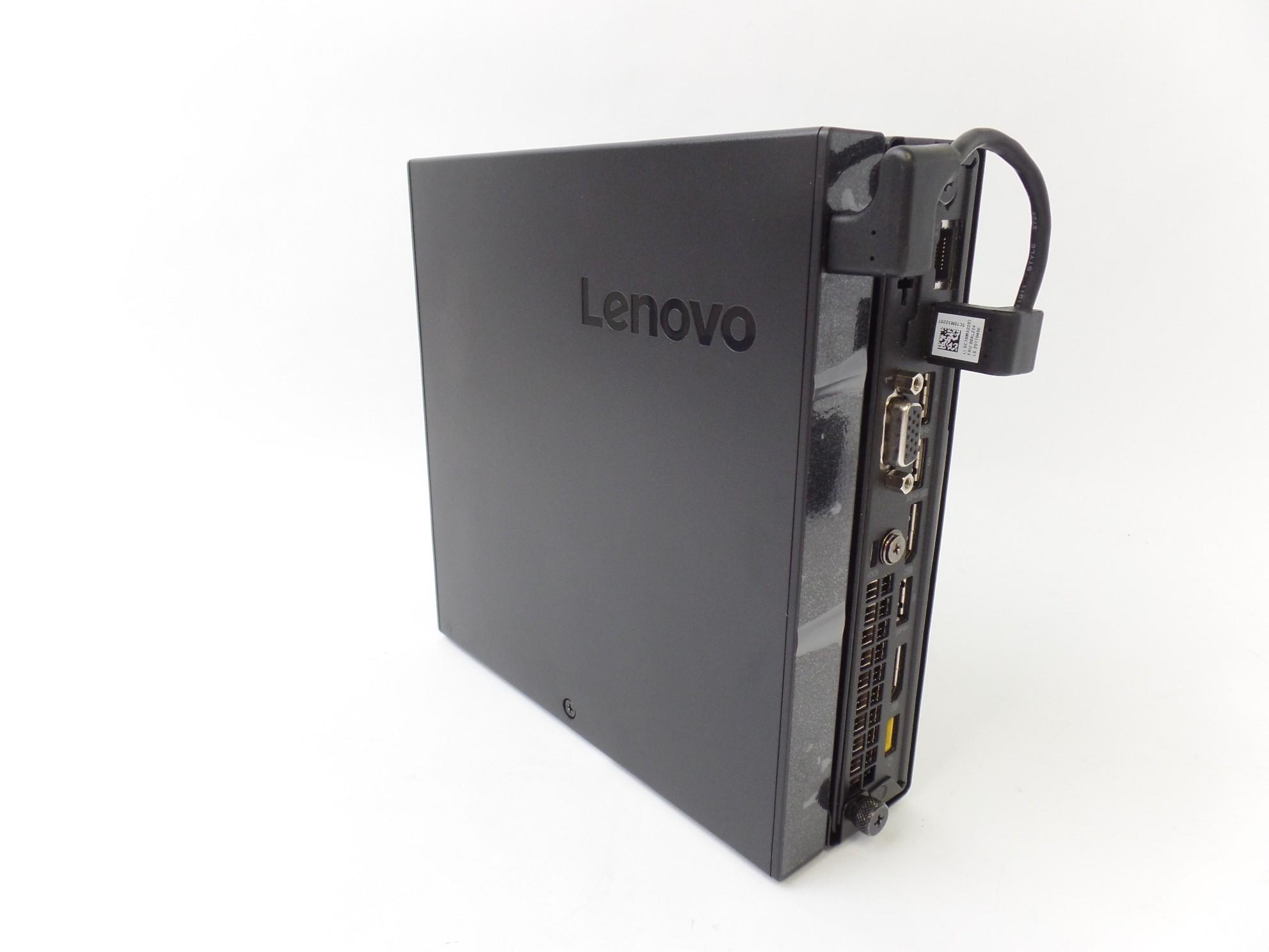 Lenovo ThinkCentre M910q Tiny Desktop PC Core i5-6500T 4GB 500GB W10P  10MUS0BV00